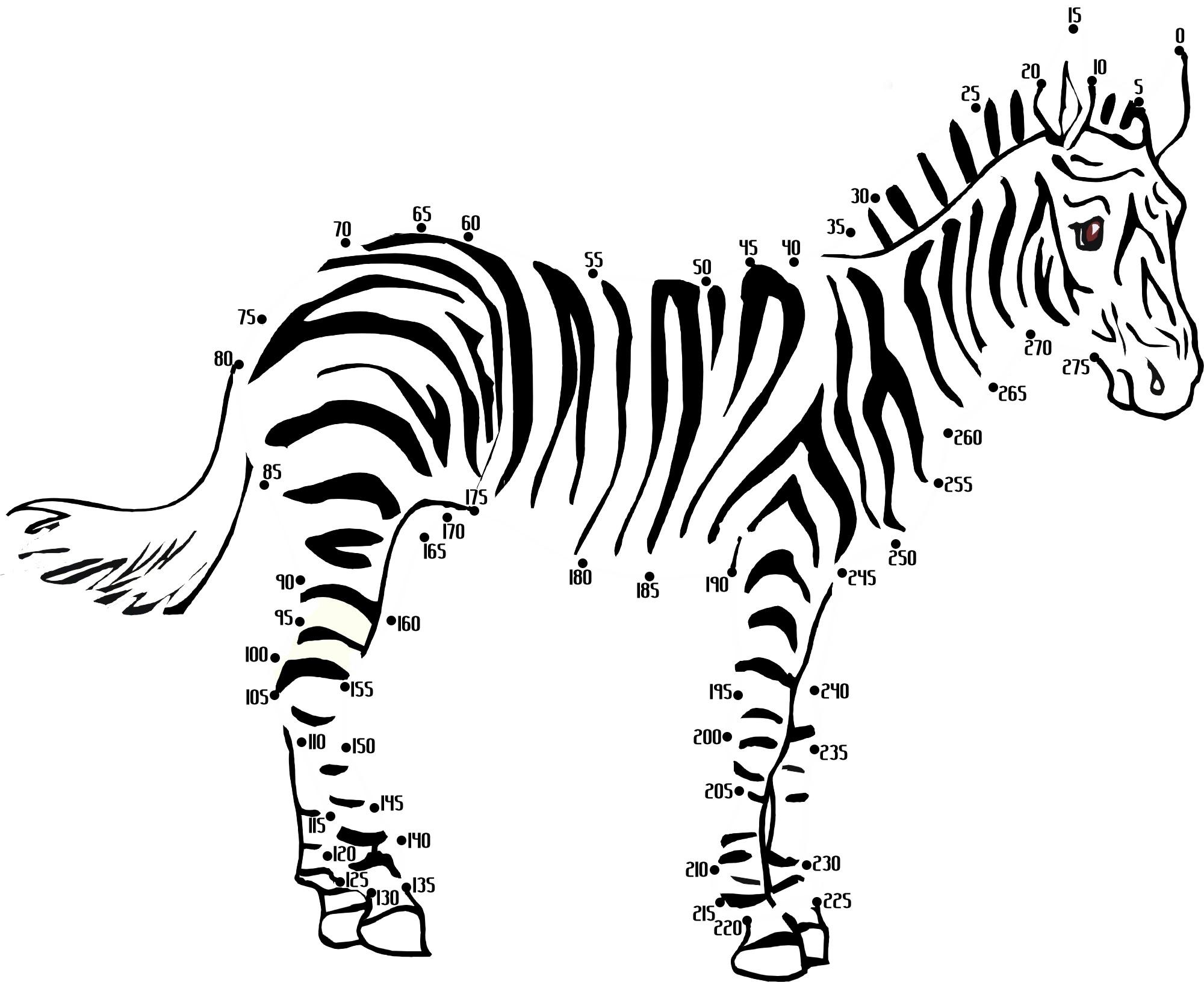 100+ Free Printable Animal Dot-to-dot Activity Worksheets